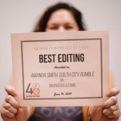Best Editing Award